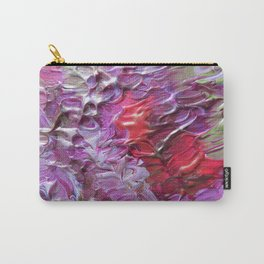 Pink Crater Carry-All Pouch