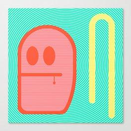 Grubbo Citrus Dim.  Canvas Print