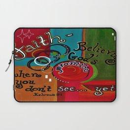 Hebrews 11 Faith Laptop Sleeve
