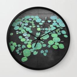 Lillies Wall Clock