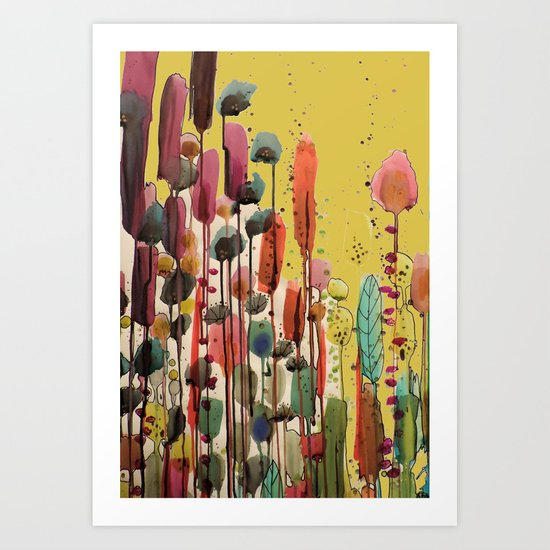 if spring is there Art Print