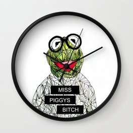 Kermit The Frog Wall Clock