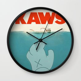 Kaws Wall Clock