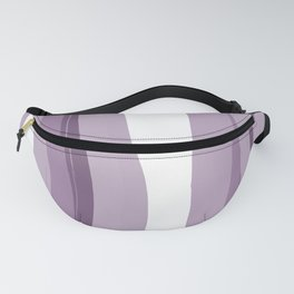 Fantasy White and Lilac Homedecor Fanny Pack