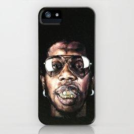 Trinidad James celebrated in Black Velvet iPhone Case