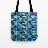 crystal Tote Bags featuring Crystal by Marcelo Romero