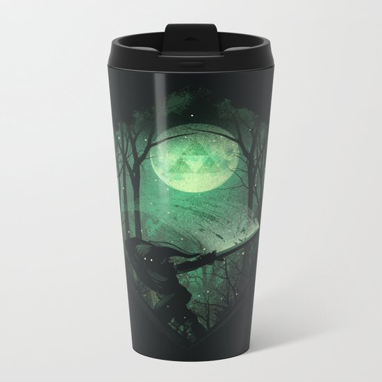 Master Sword Metal Travel Mug