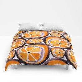 Bunch O' Orange Comforters