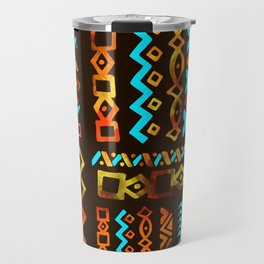Bold Ethnic pattern n.5 Travel Mug