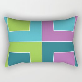 CYMK Rectangular Pillow