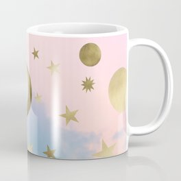 Pastel Starry Sky Moon Dream #1 #decor #art #society6 Coffee Mug