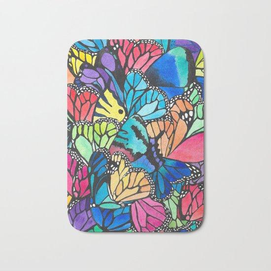 Butterfly Spark Bath Mat