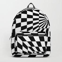 Optical Illusion Hallway Backpack