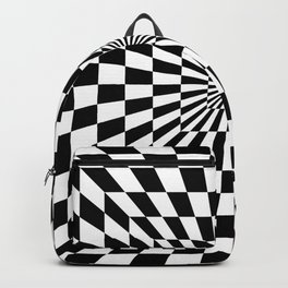 Optical Illusion Hallway Backpack