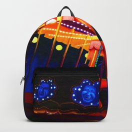 Carousel , Oil Painting Backpack