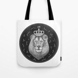 Zodiac sign Leo Tote Bag