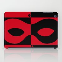 harley quinn iPad Cases featuring Harley Quinn by Argent Stylings