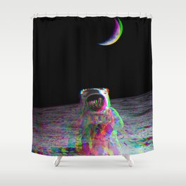 COLORFUL MOONS Shower Curtain