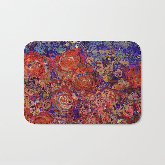 roses where are you Bath Mat
