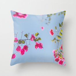 Bugambilia Throw Pillow
