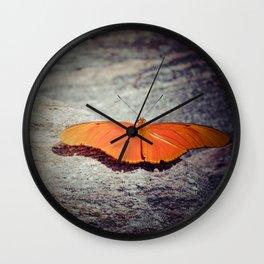 Orange Wonder Wall Clock