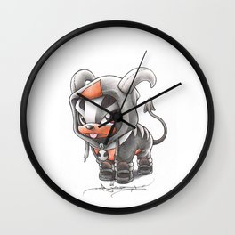 Facing certain Doom Wall Clock