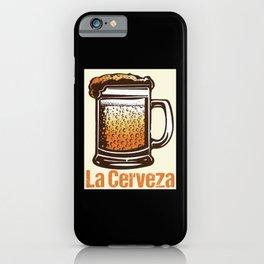 Loteria - La Cerveza iPhone Case