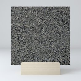 Texture #2 Asphalt Mini Art Print