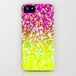 Glitter Graphic G224 iPhone Case