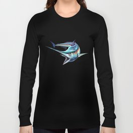 Marlin in pursuit  Long Sleeve T-shirt