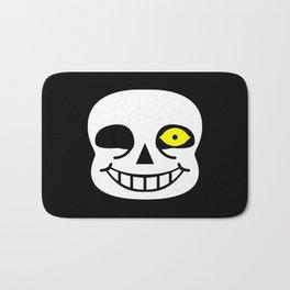 Sans Skull Bad Time Bath Mat