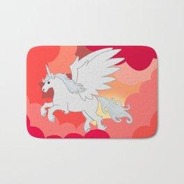 Alicorn at Sunset Bath Mat