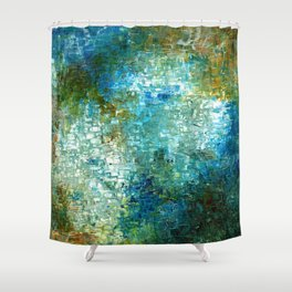 TERRA FIRMA Shower Curtain