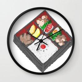 Bento Box Wall Clock