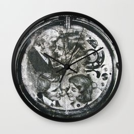 Timeless Love Wall Clock