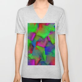 Softly cubism ... Unisex V-Neck
