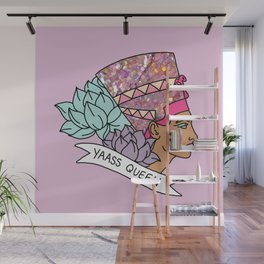 Yas Queen Eyptian Broad City Print Wall Mural