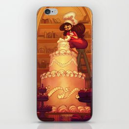 A Committed Baker iPhone Skin