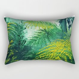 Rainforest Lights and Shadows Rectangular Pillow