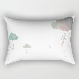 Ongi Etorri, rain Rectangular Pillow