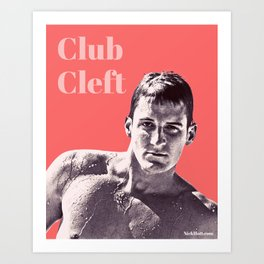 Club Cleft Art Print