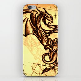 Battling Dragons - Mythical Creatures iPhone Skin