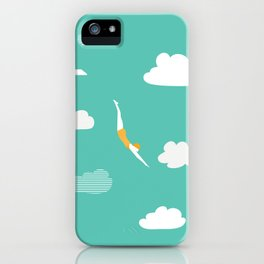 High Diver iPhone Case