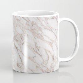 White Marble Carrara Calacatta Coffee Mug