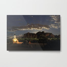 Moon RIsing Metal Print