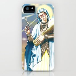 Our Lady of the Log iPhone Case