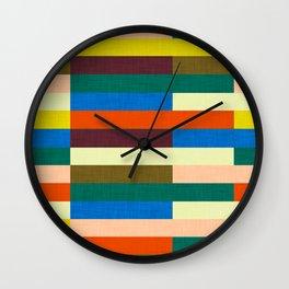 kilim Autumn Colors Wall Clock
