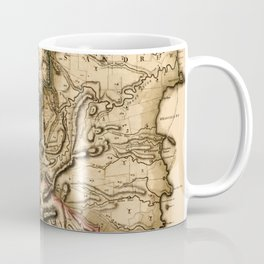 Map Of Grenada 1780 Coffee Mug