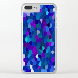 Geometrically mosaically speaking... Clear iPhone Case