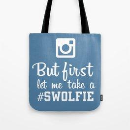 #swolfie Tote Bag